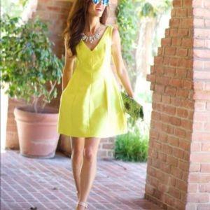 Kate Spade Yellow Cocktail dress
